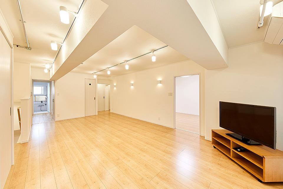 家具と一体化を目指したリフォーム